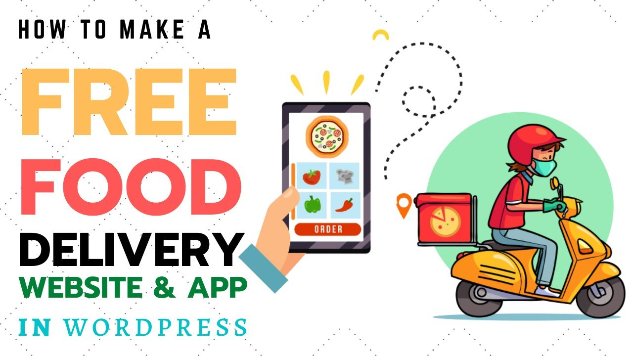 How to make a Free Online Food Ordering and Restaurant Table Booking Website in WordPress