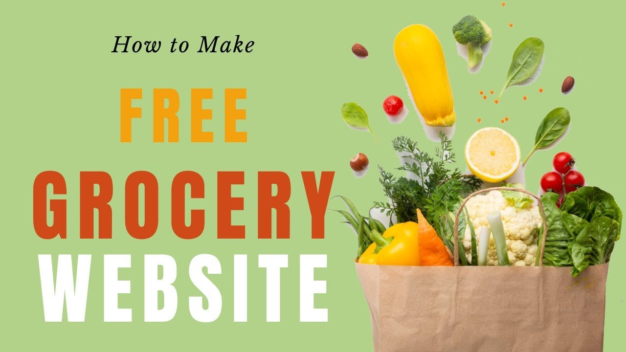 How To Make A Grocery Website in WordPress for FREE  – GROCERY STORE 2020
