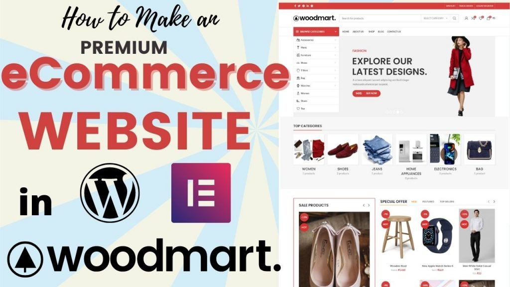 How to Create a Premium eCommerce Website with WordPress in 2021 – WoodMart Theme Tutorial (Easy for Beginners)